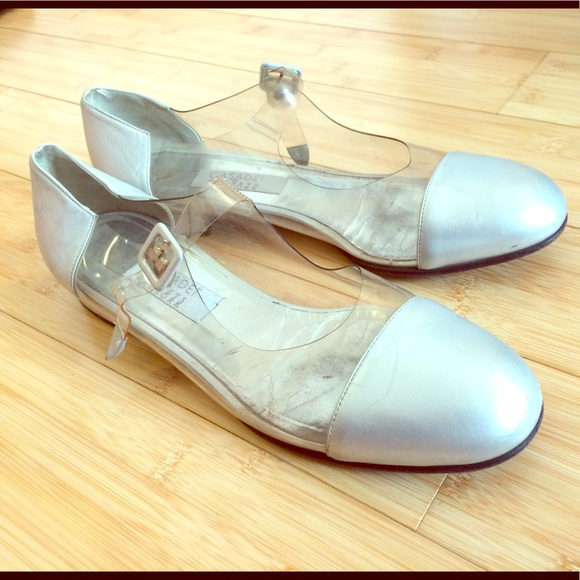 0b185fab9f9 Barneys New York Shoes | Casadei Mocassins In Leather And Clear ...